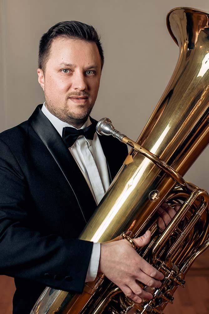 Adam Andrzejewski - tuba